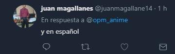 opm respuesta en español